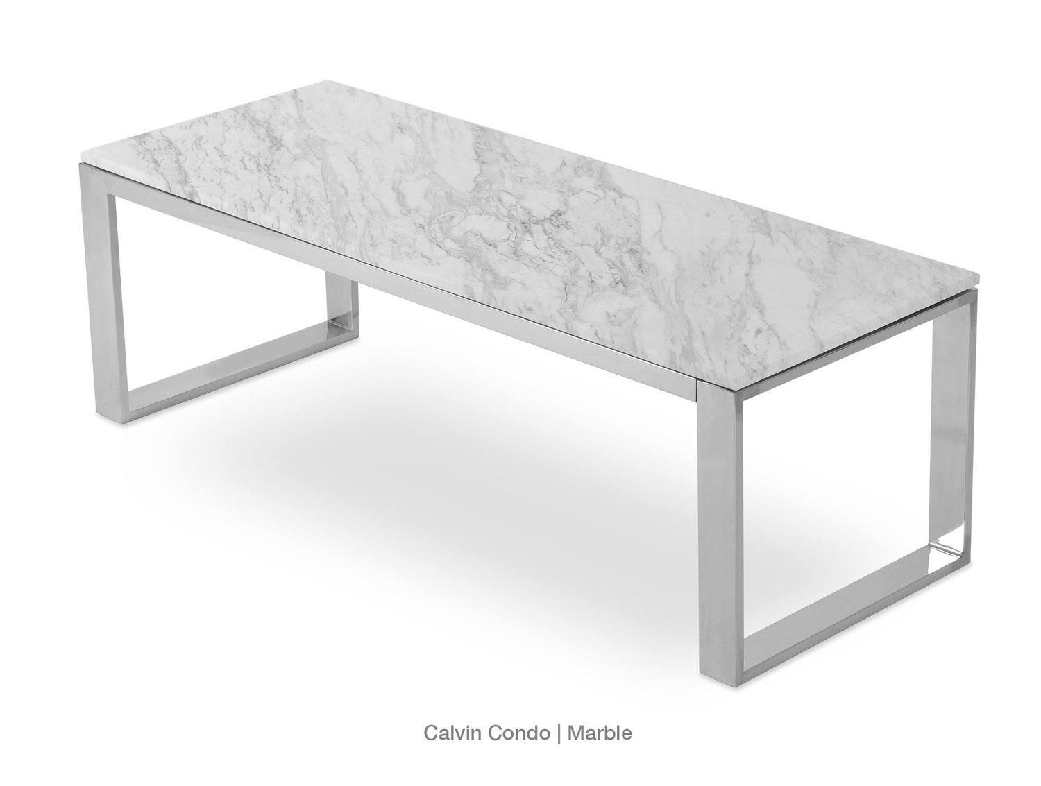 Calvin Condo Table White Marble SohoConcept At MetropolitanDecor - Calvin coffee table