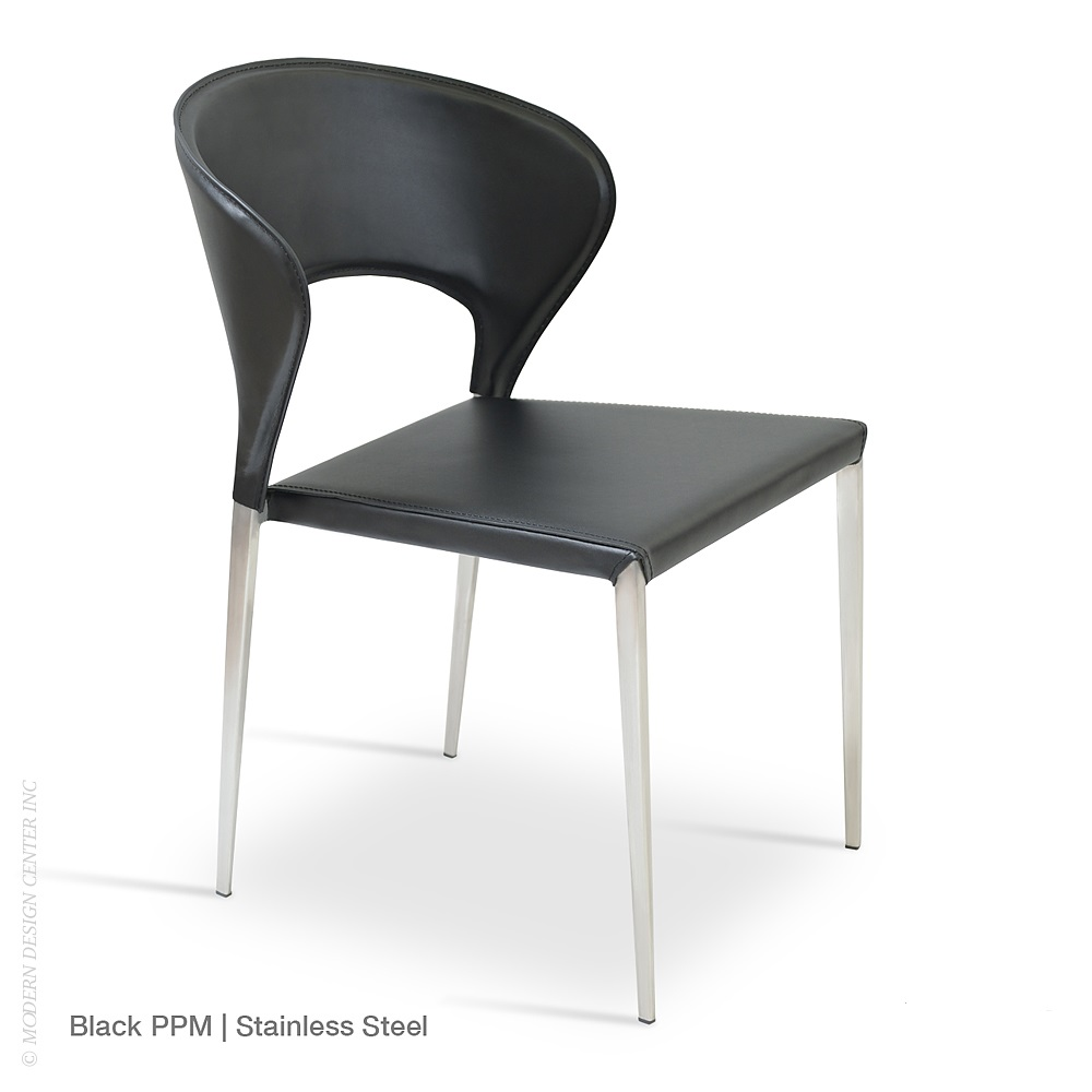 Stacking Dining Room Chairs: Prada Metal Stackable Dining Chair