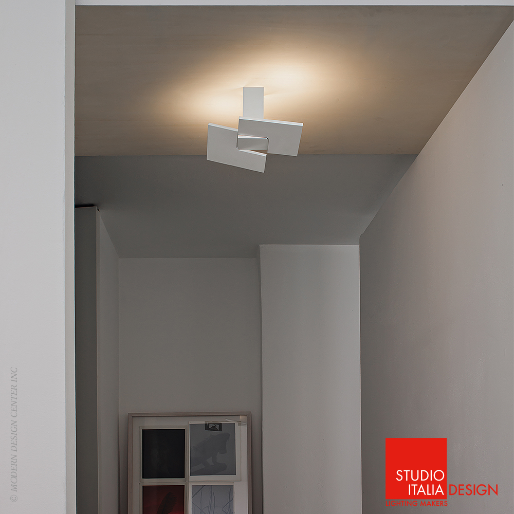 Puzzle twist ceiling pl1 studio italia design for Product design studio
