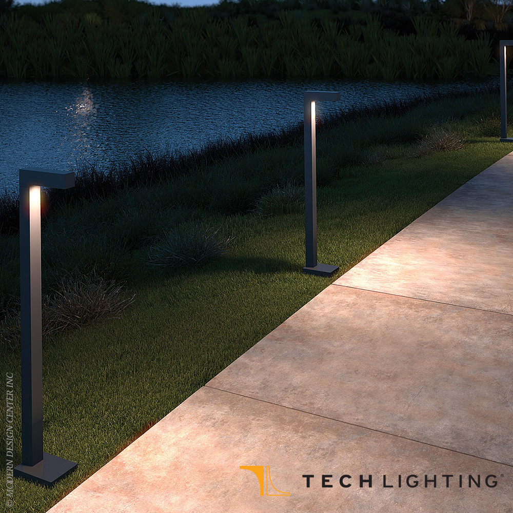 Strut LED Outdoor Bollard | Tech Lighting