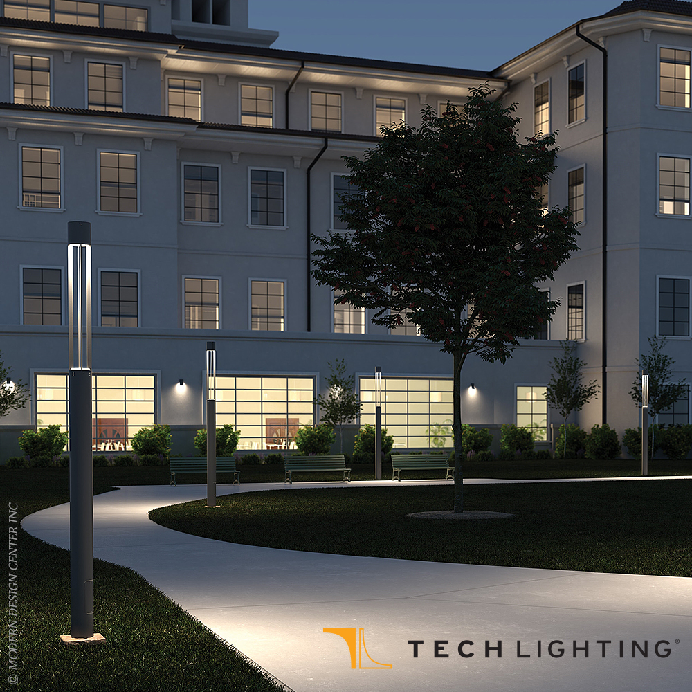 Turbo 25W LED Outdoor Light Column | Tech Lighting