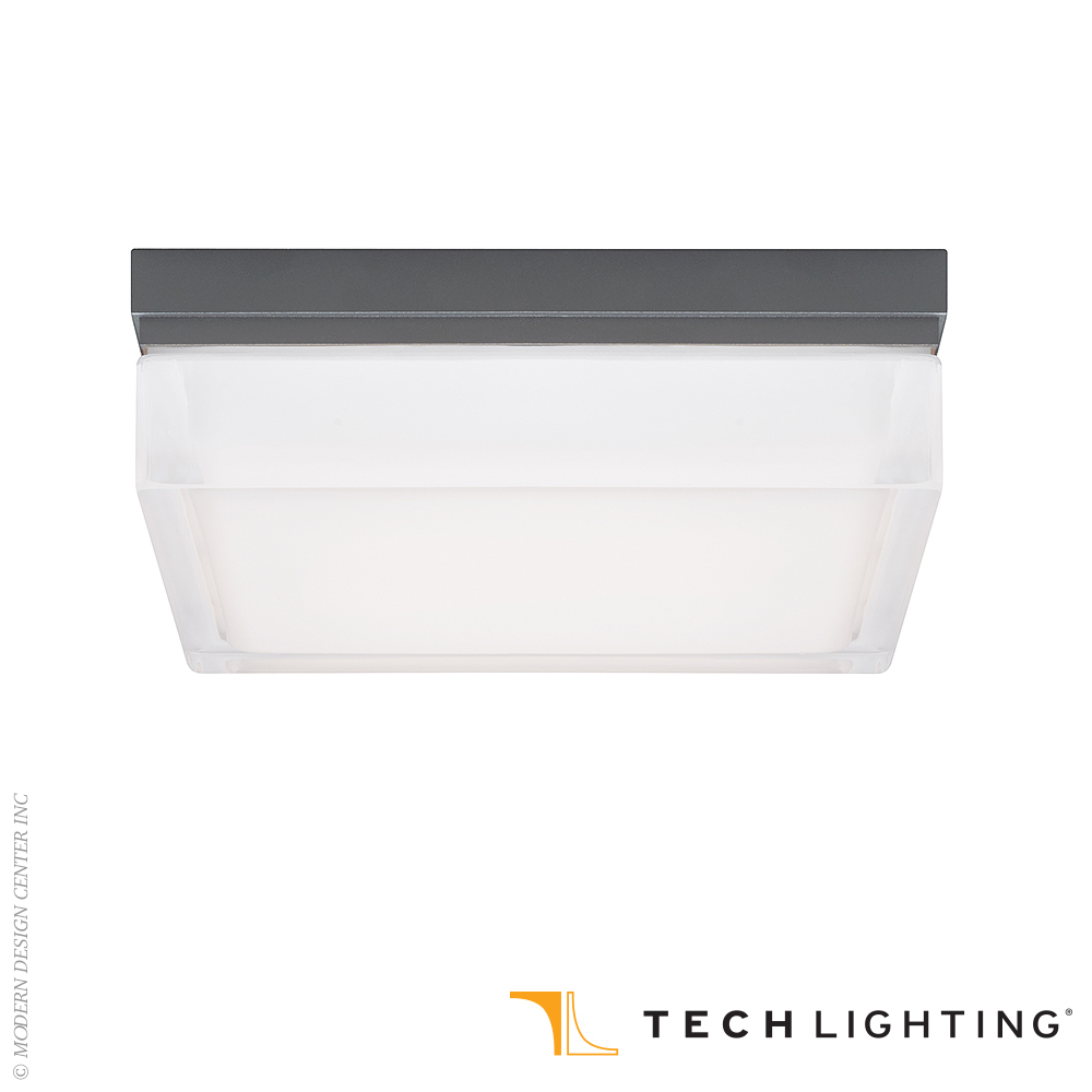 Boxie Large LED Outdoor Wall/Ceiling Light| Tech Lighting