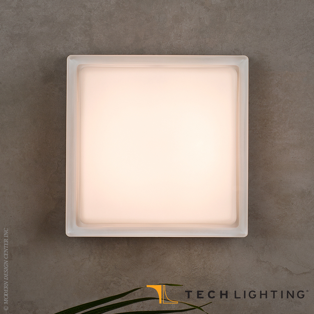 Boxie Small Led Outdoor Wall Ceiling Light Tech Lighting At Metropolitandecor