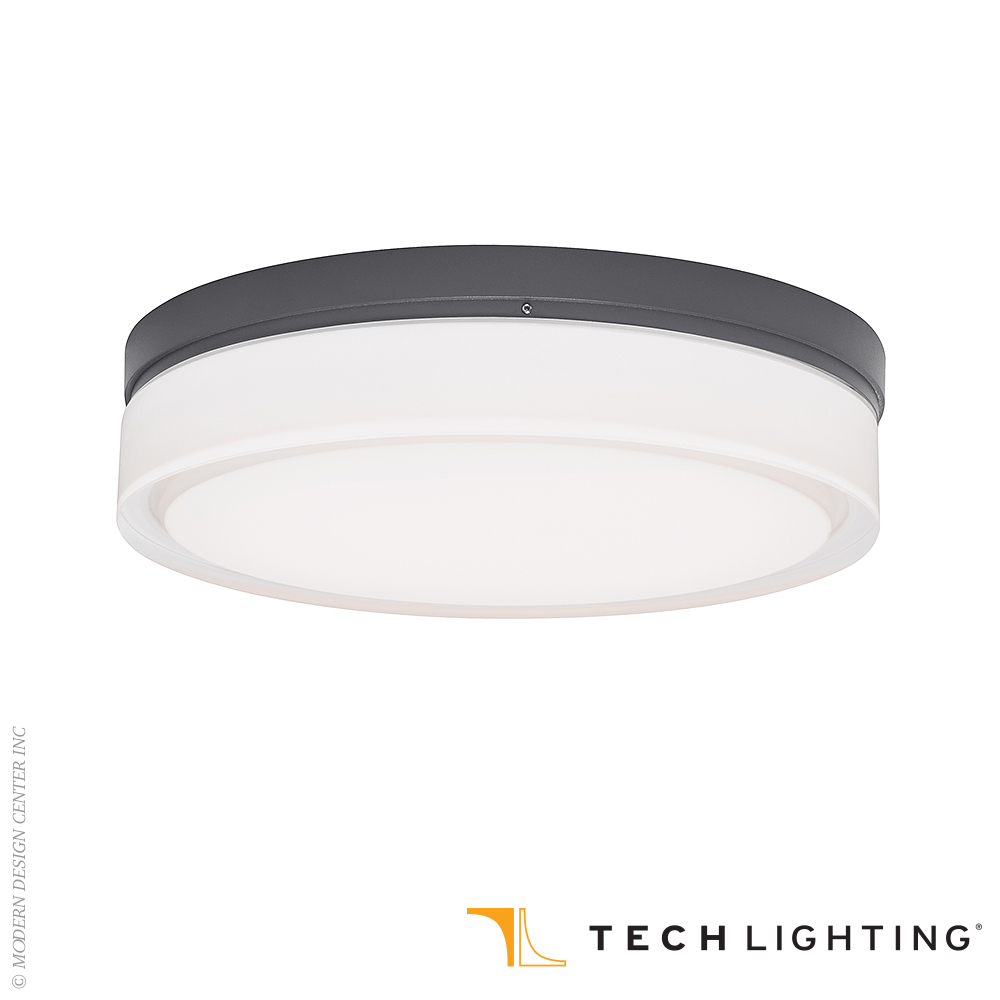 Cirque Large LED Outdoor Wall/Ceiling Light | Tech Lighting