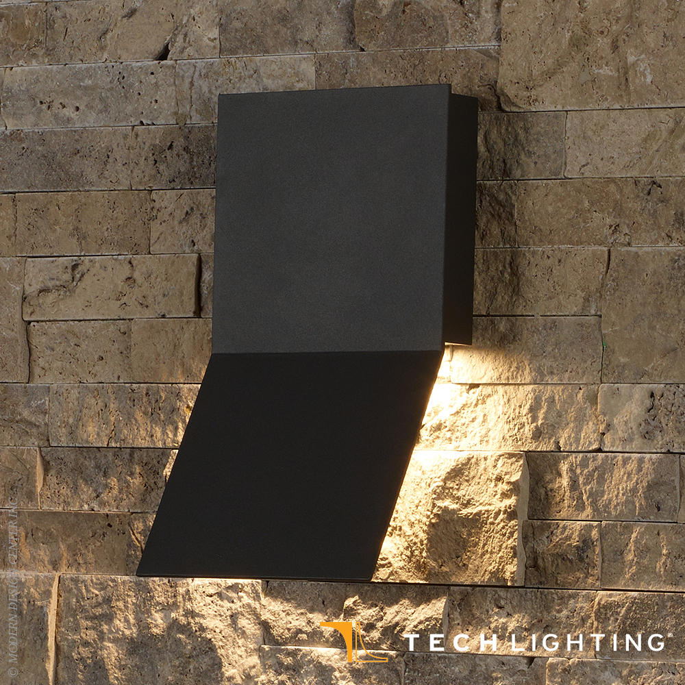 Leev LED Outdoor Wall Sconce | Tech Lighting