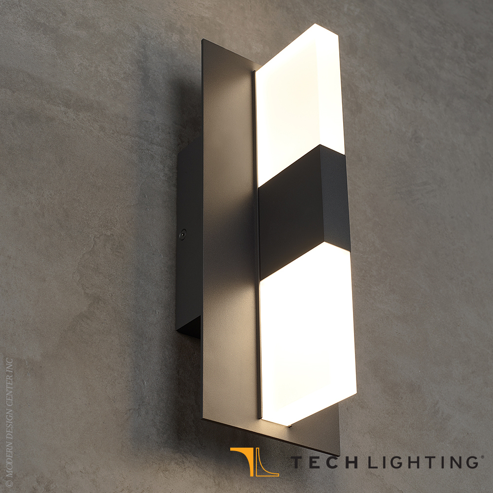 Lyft 12 LED Outdoor Wall Sconce - Tech Lighting at MetropolitanDecor
