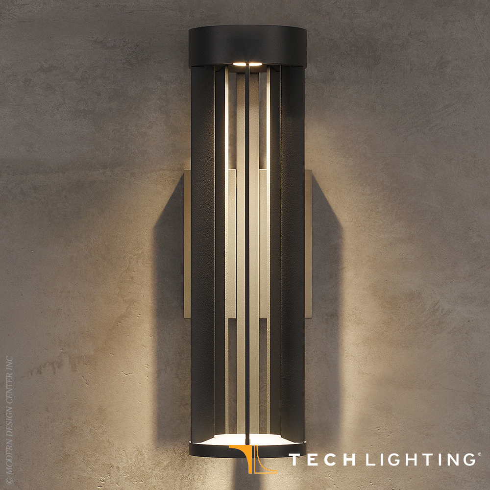 Turbo LED Outdoor Wall Sconce - Tech Lighting at ... on Outdoor Wall Sconce Lighting id=16199
