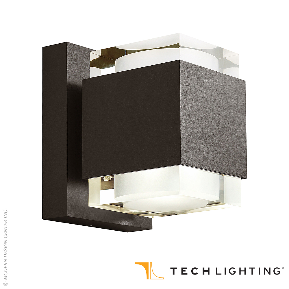 Voto 8 LED Outdoor Wall Sconce | Tech Lighting