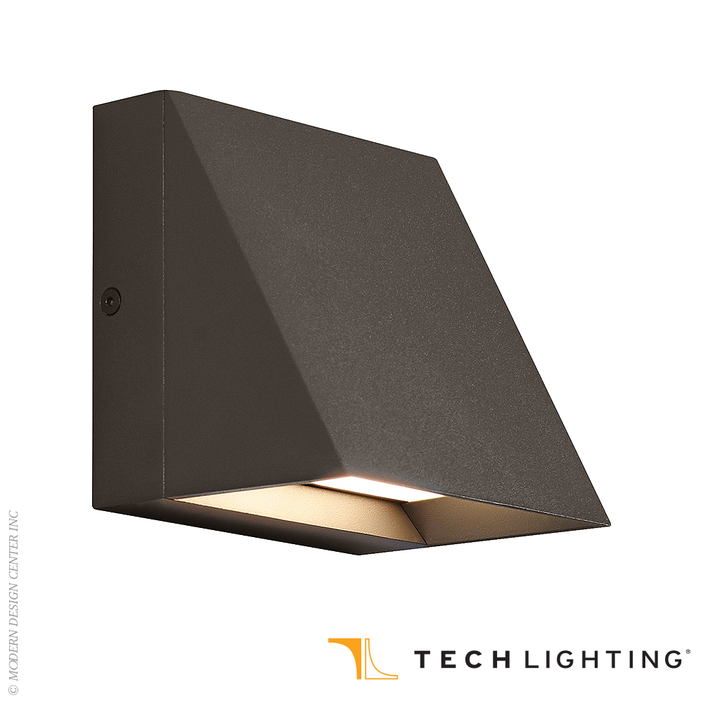Pitch Single LED Outdoor Wall Sconce | Tech Lighting