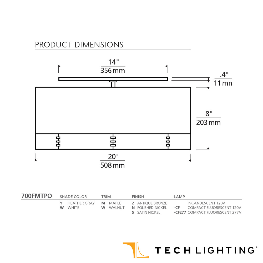 Quick View  sc 1 st  MetropolitanDecor.com & Topo Flushmount Ceiling Light | Tech Lighting | MetropolitanDecor