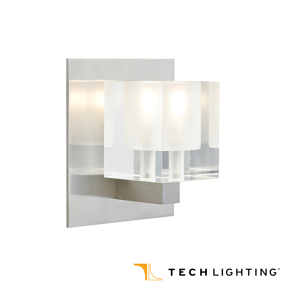 Cube Wall Sconce | Tech Lighting | MetropolitanDecor