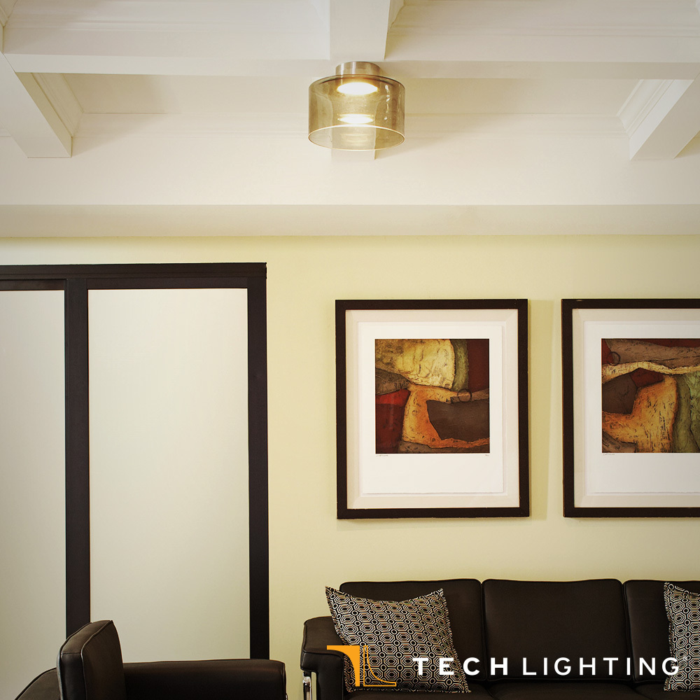 Manette flush mount ceiling light large tech lighting quick view mozeypictures Gallery