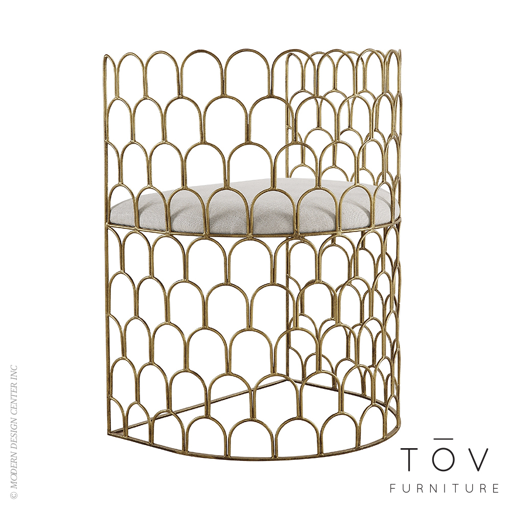 Abby Metal Chair | Tov Furniture