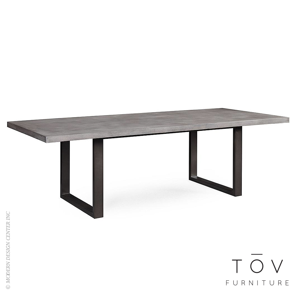 Edna Concrete Table | Tov Furniture