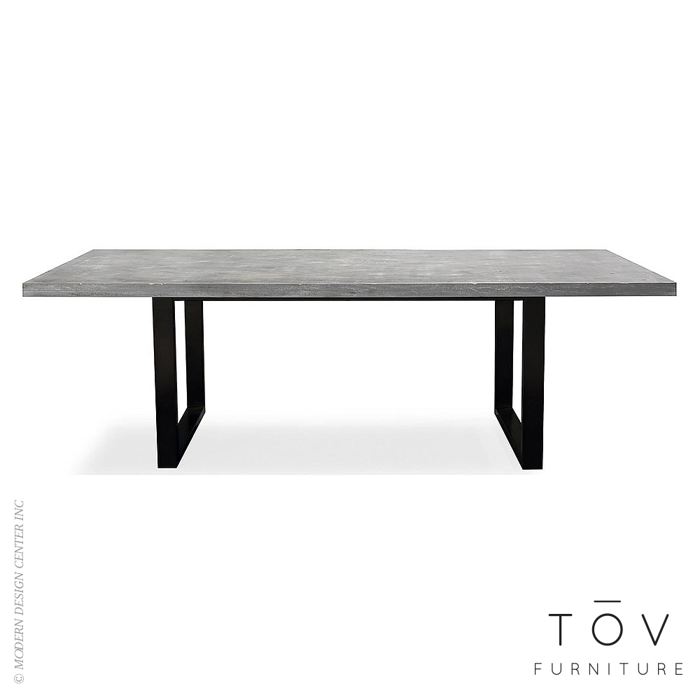 Urban Light Concrete Table | Tov Furniture
