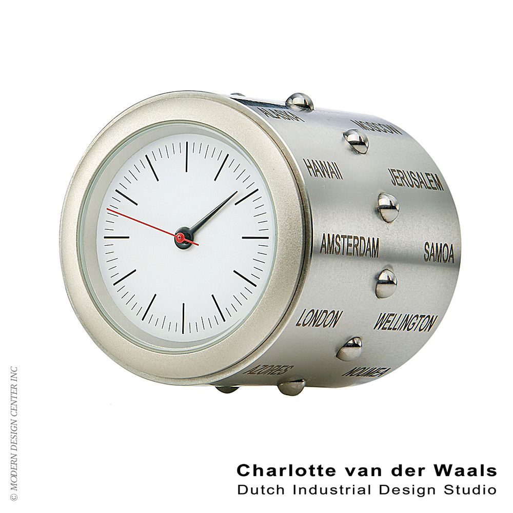 World Time Clock | Van der Waals
