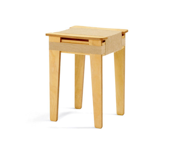 Wrapped Stool Natural | Vij5