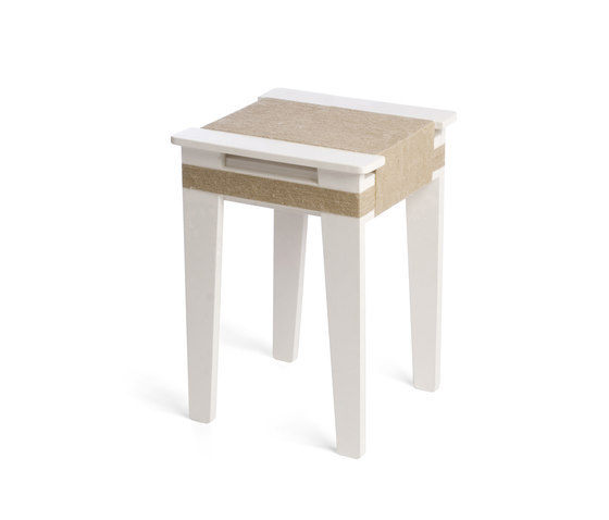 Wrapped Stool White | Vij5