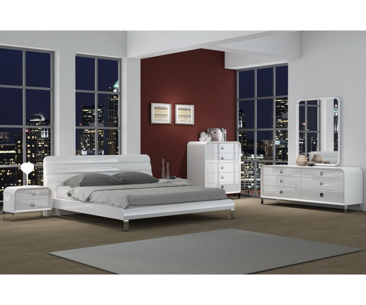 Gail Queen Bed | Whiteline