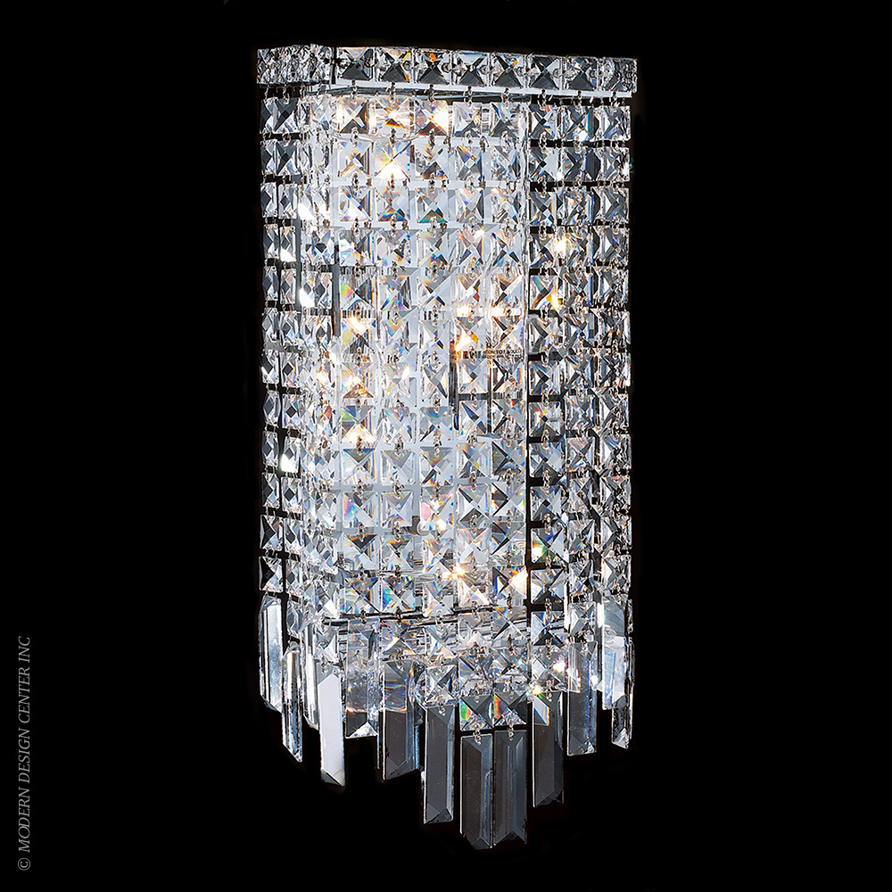 Cascade Wall Sconce W23622C8 | Worldwide Lighting