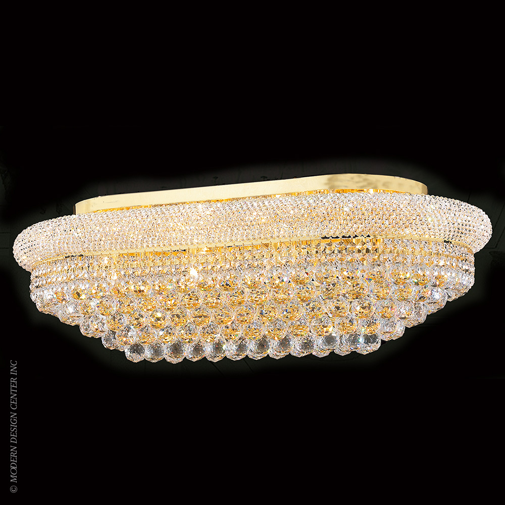 Empire Flush Mount W33007g36 Worldwide Lighting Metropolitandecor
