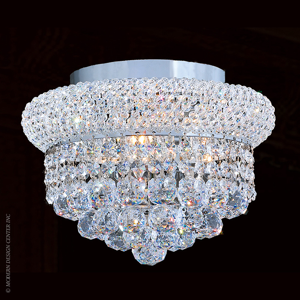 Empire Flush Mount W33019C12 | Worldwide Lighting