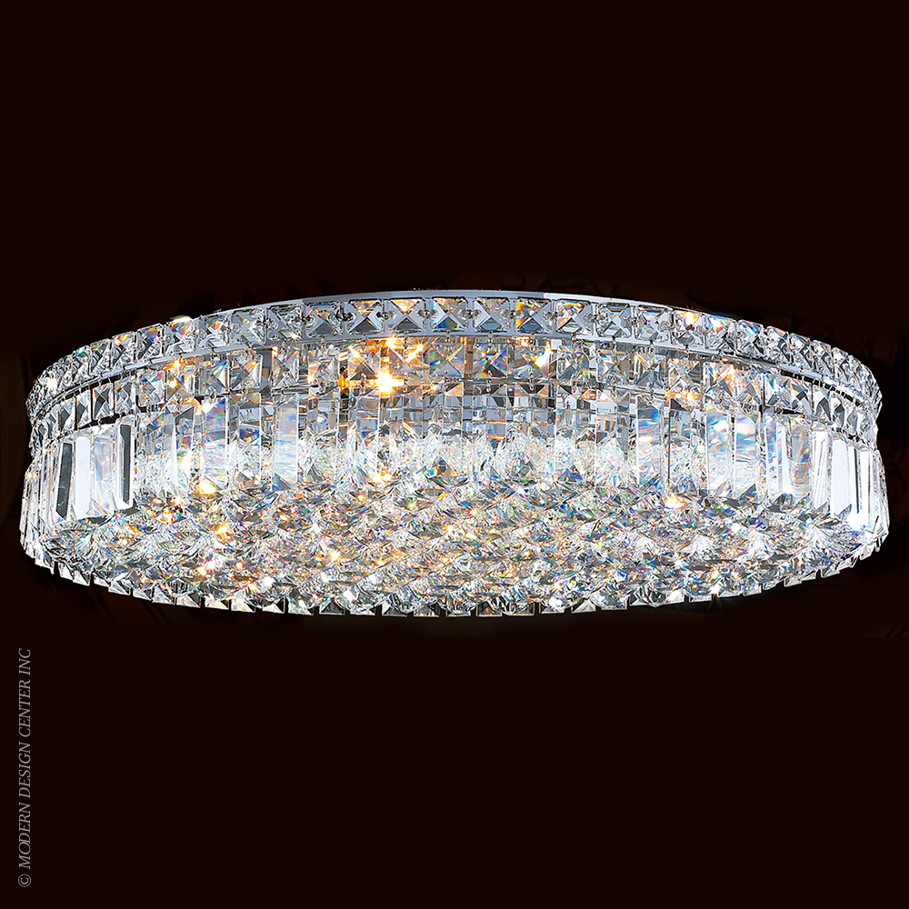 Cascade Flush Mount W33509C24 | Worldwide Lighting
