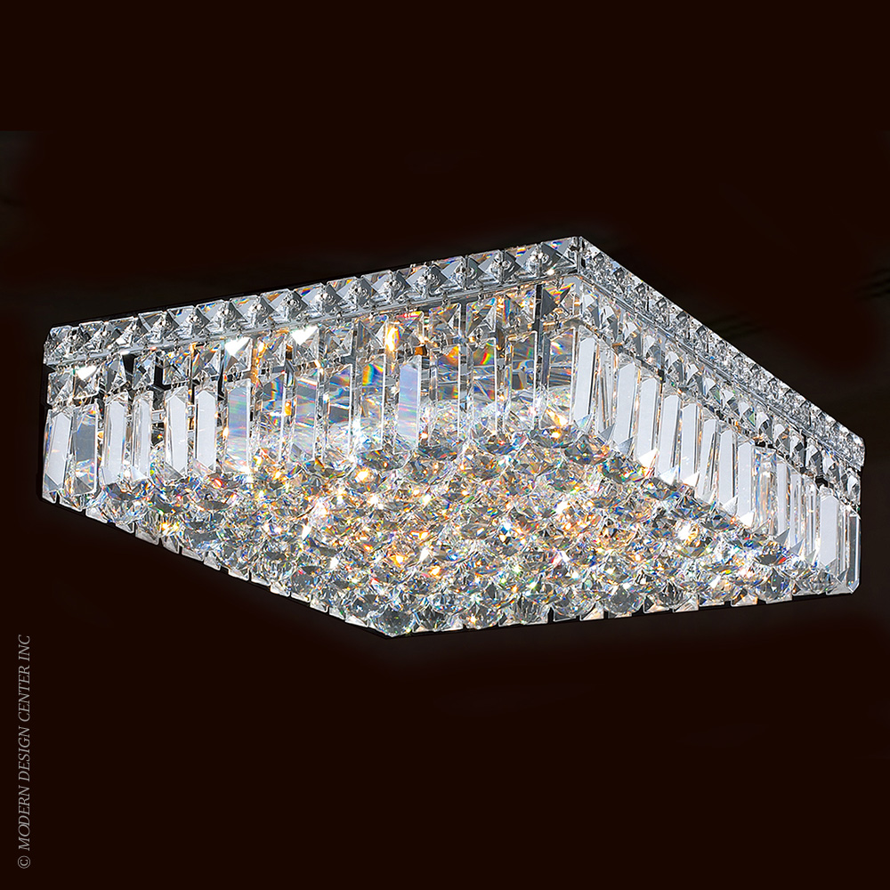 Cascade Flush Mount W33518C16 | Worldwide Lighting