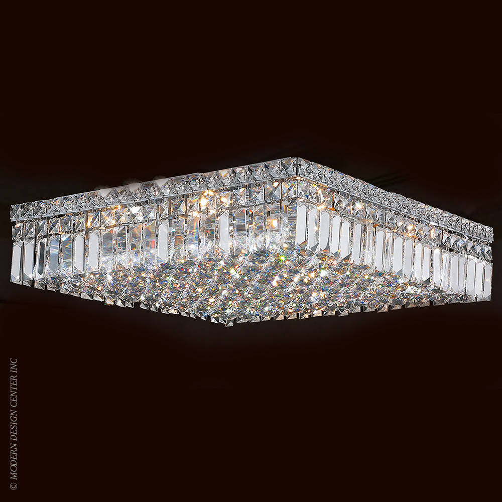 Cascade Flush Mount W33519C20 | Worldwide Lighting
