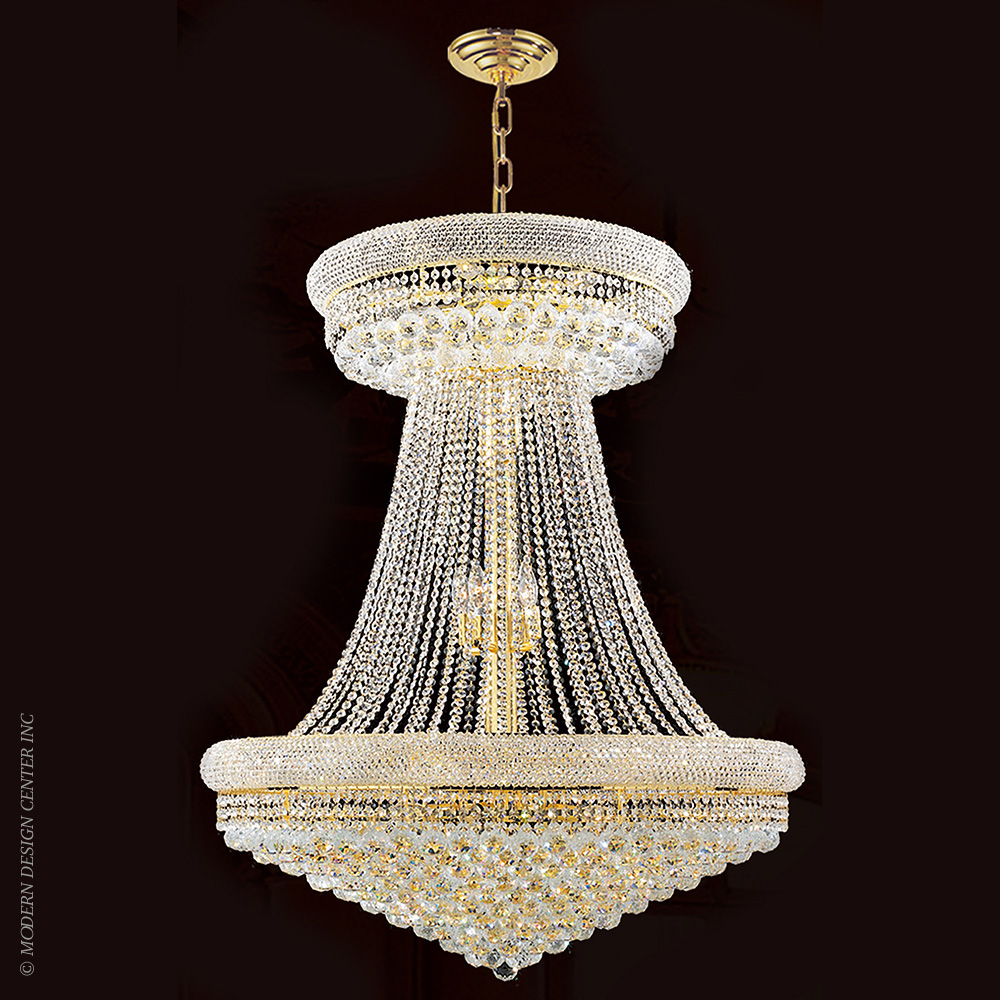Empire Chandelier W83037G36 | Worldwide Lighting