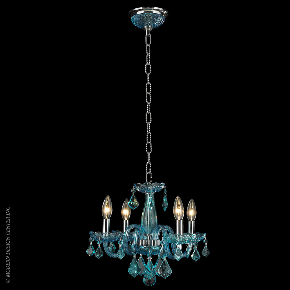 Clarion Chandelier W83100C16-CB | Worldwide Lighting