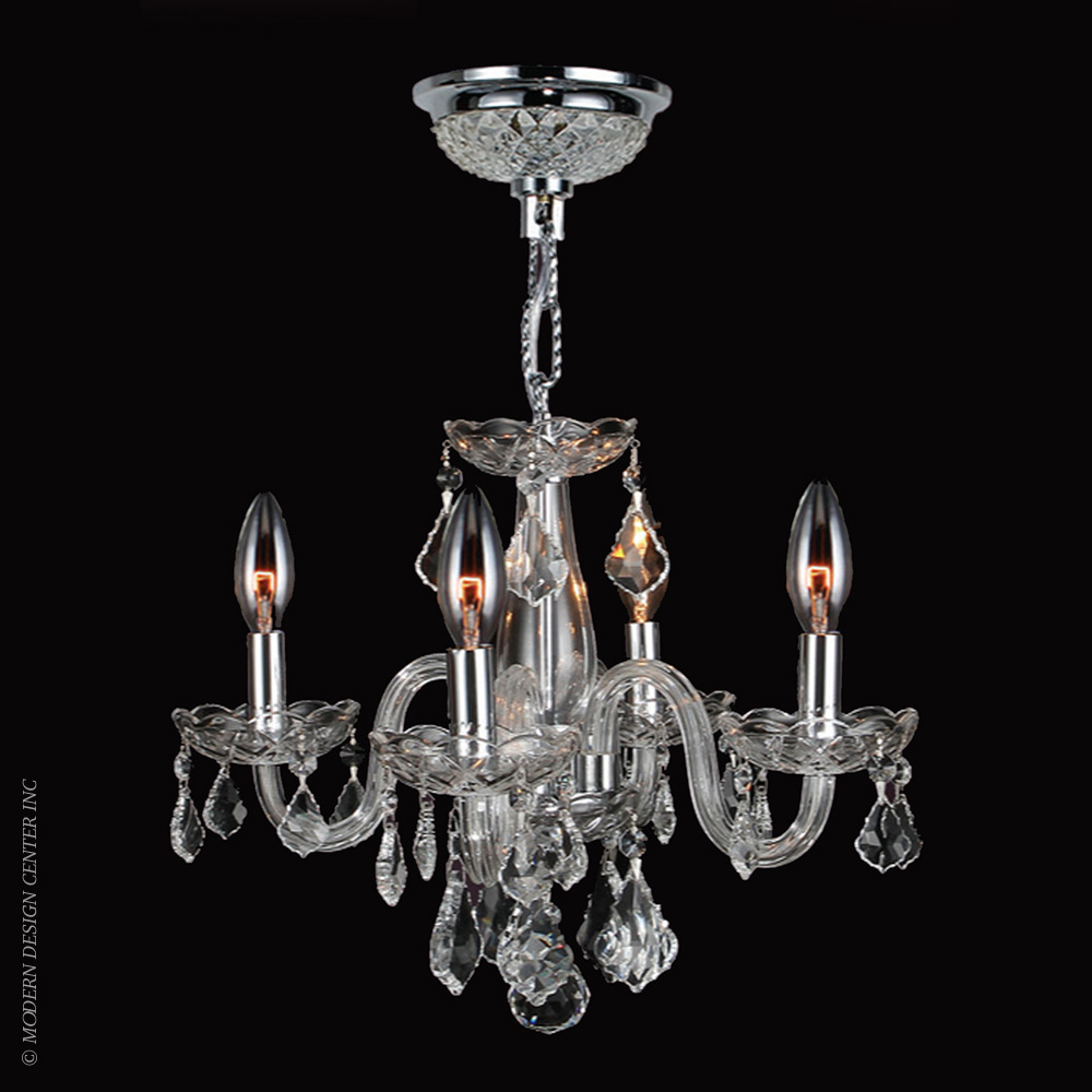 Clarion Chandelier W83100C16-CL | Worldwide Lighting