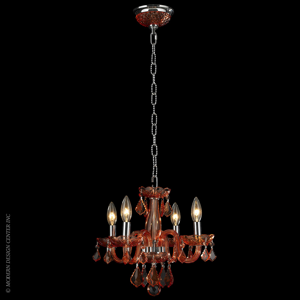 Clarion Chandelier W83100C16-CR | Worldwide Lighting