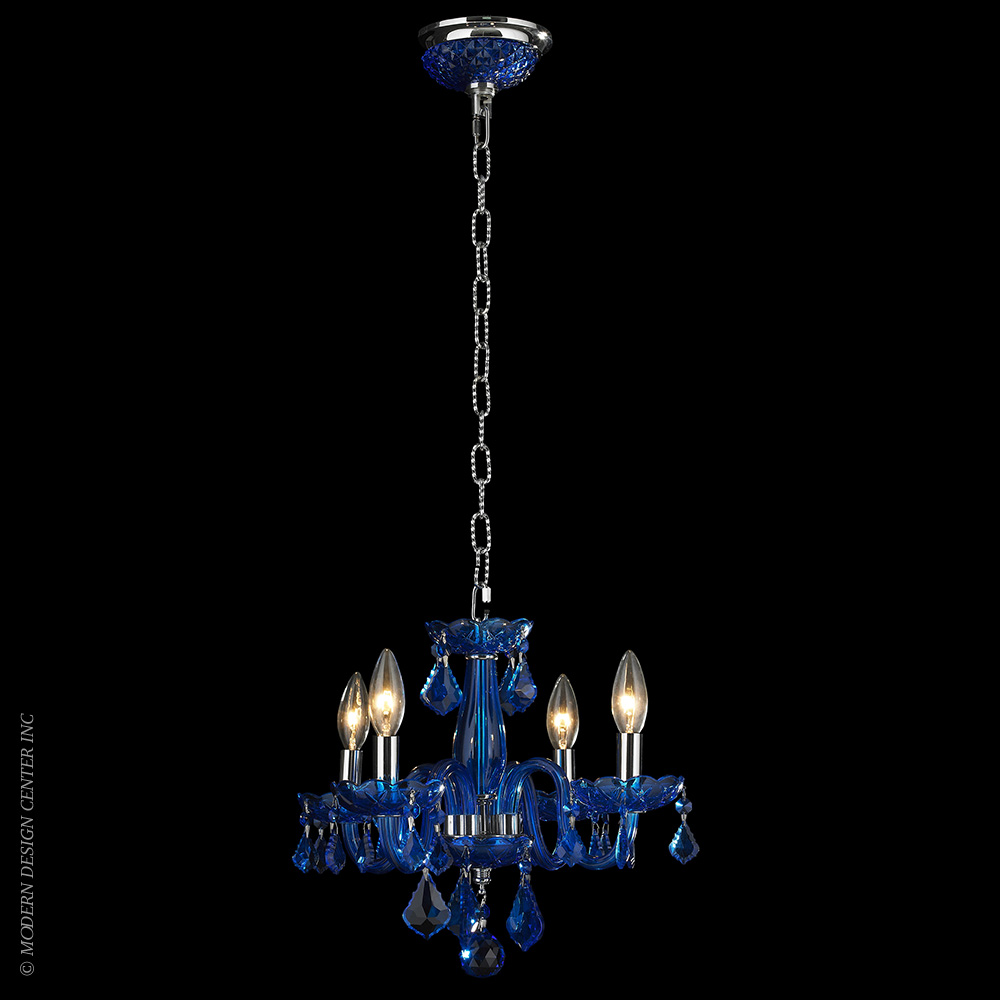 Clarion Chandelier W83100C16-SP | Worldwide Lighting