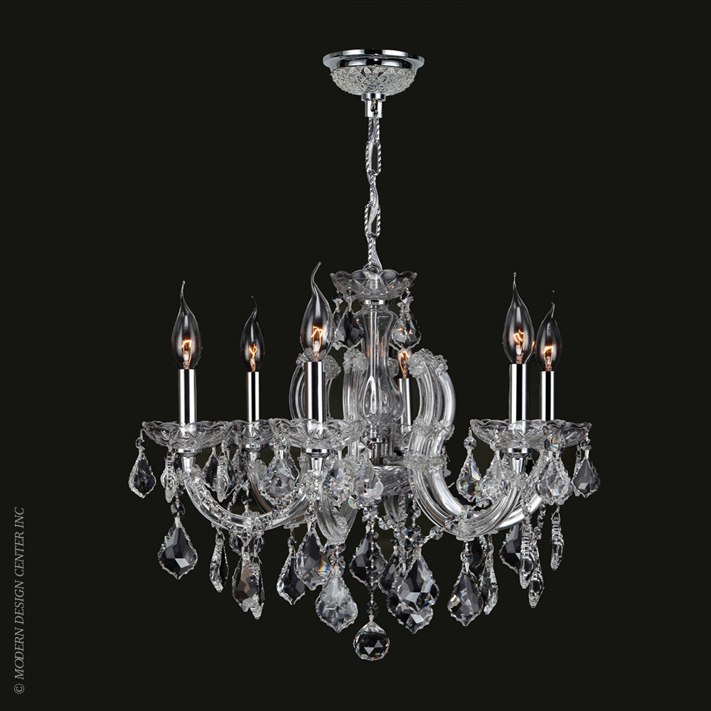 Catherine Chandelier W83121C20-CL | Worldwide Lighting