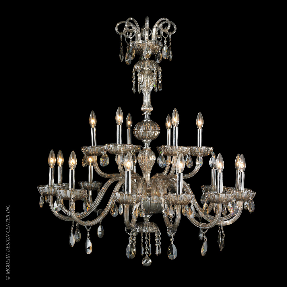 Carnivale Chandelier W83178C36-GT | Worldwide Lighting