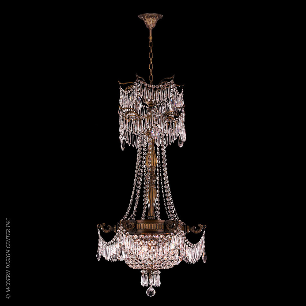 Winchester Chandelier W83355B20-CL | Worldwide Lighting