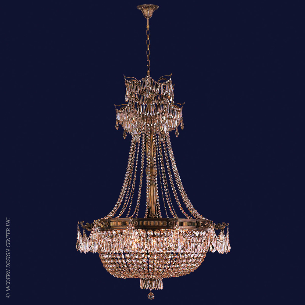 Winchester Chandelier W83355B36-GT | Worldwide Lighting