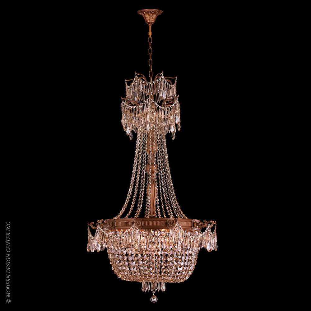 Winchester Chandelier W83355FG30-GT | Worldwide Lighting