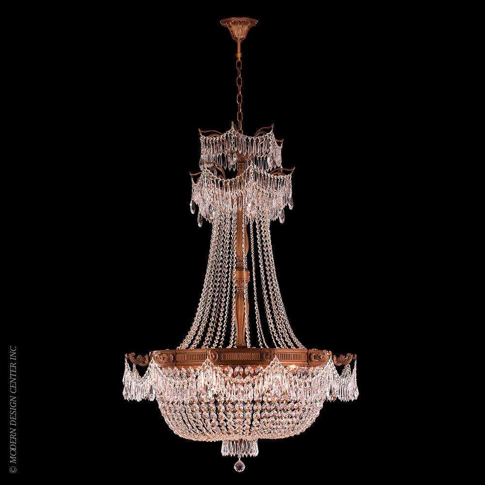 Winchester Chandelier W83355FG36-CL | Worldwide Lighting