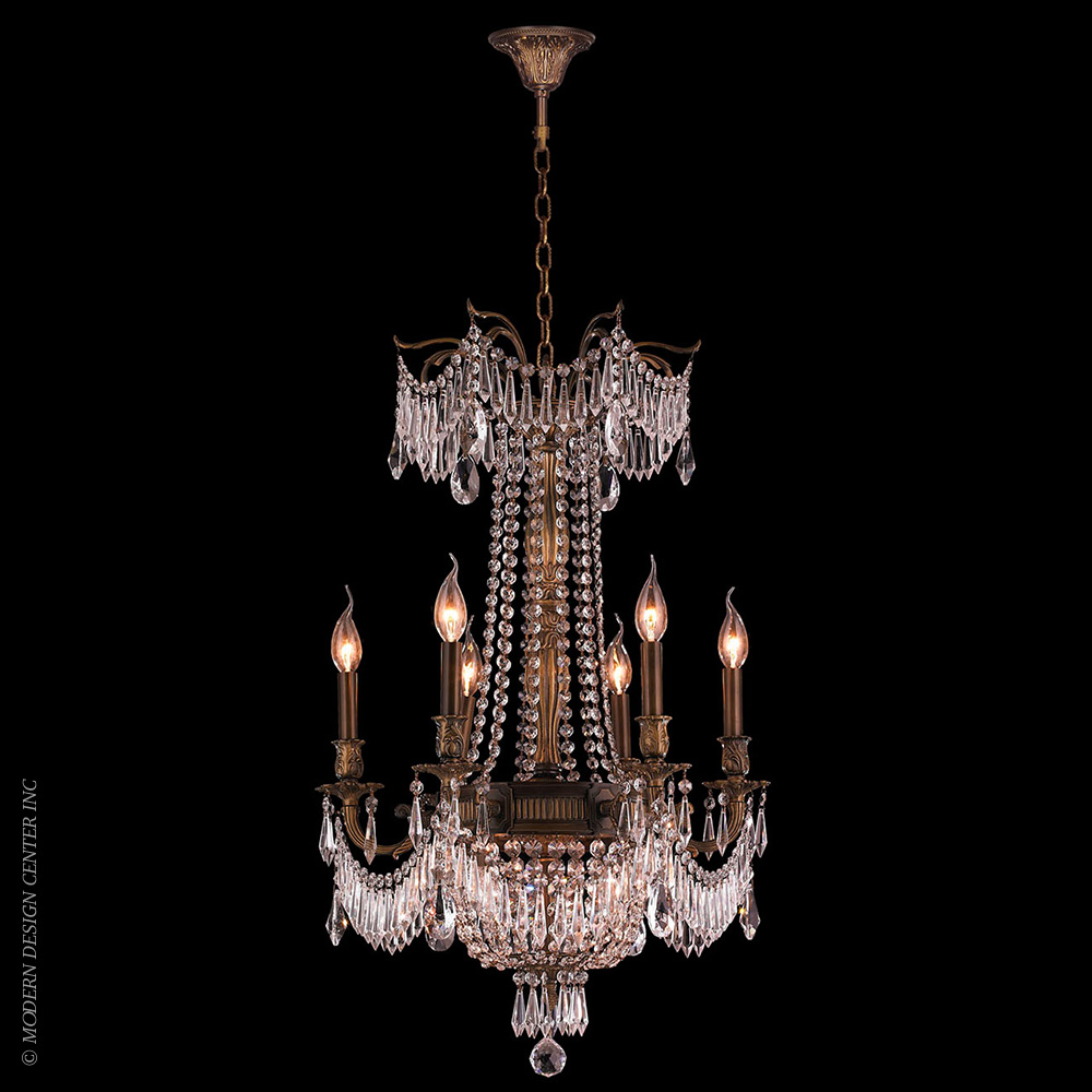 Winchester Chandelier W83356B20-CL | Worldwide Lighting