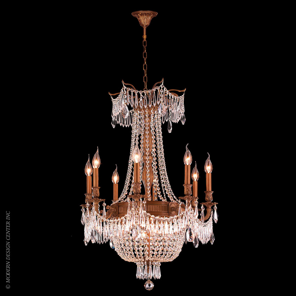Winchester Chandelier W83356FG24-CL | Worldwide Lighting