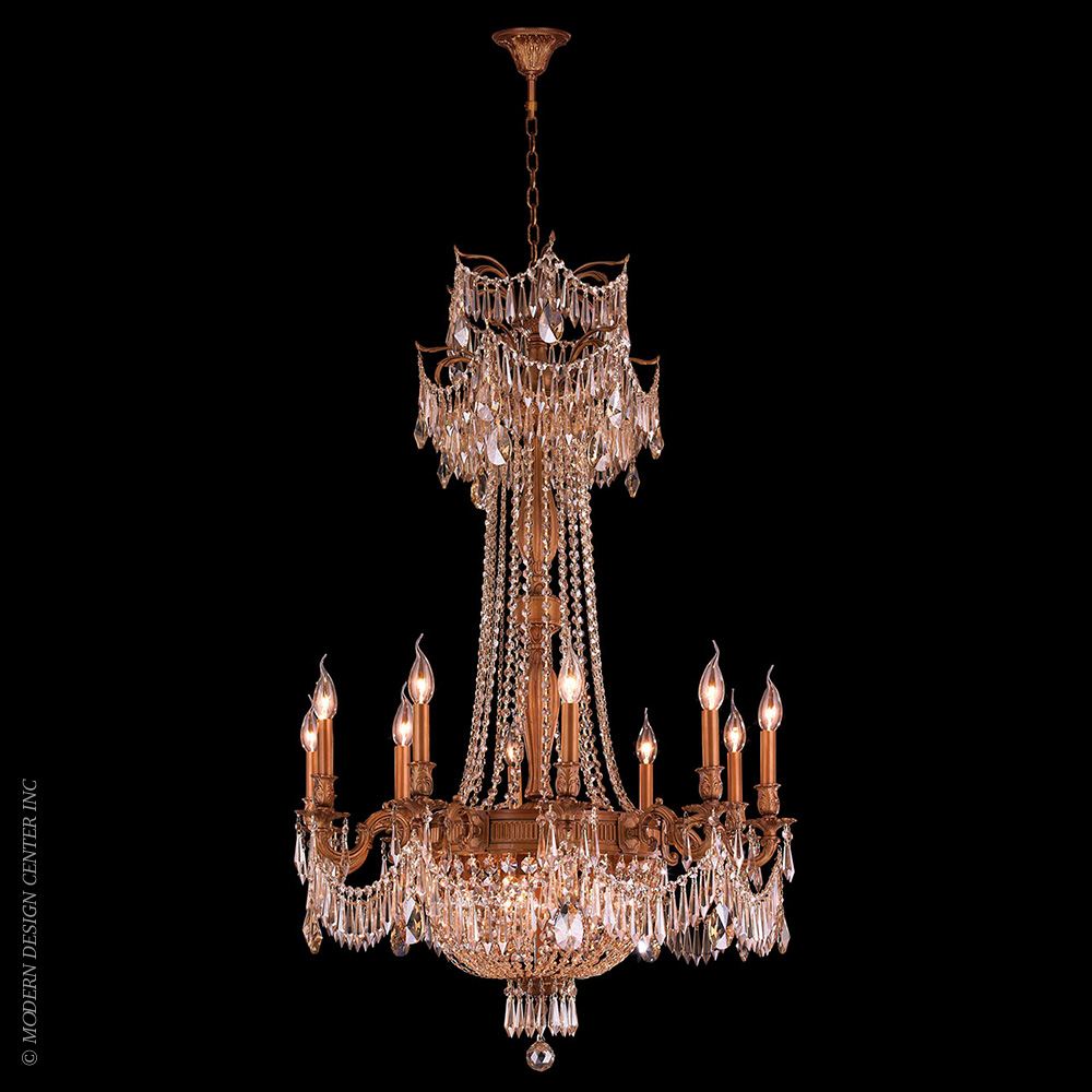 Winchester Chandelier W83356FG30-GT | Worldwide Lighting