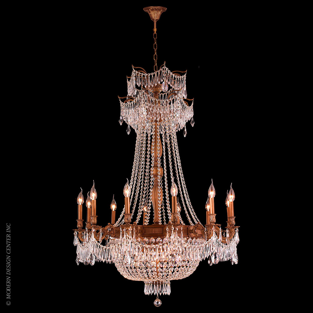 Winchester Chandelier W83356FG36-CL | Worldwide Lighting