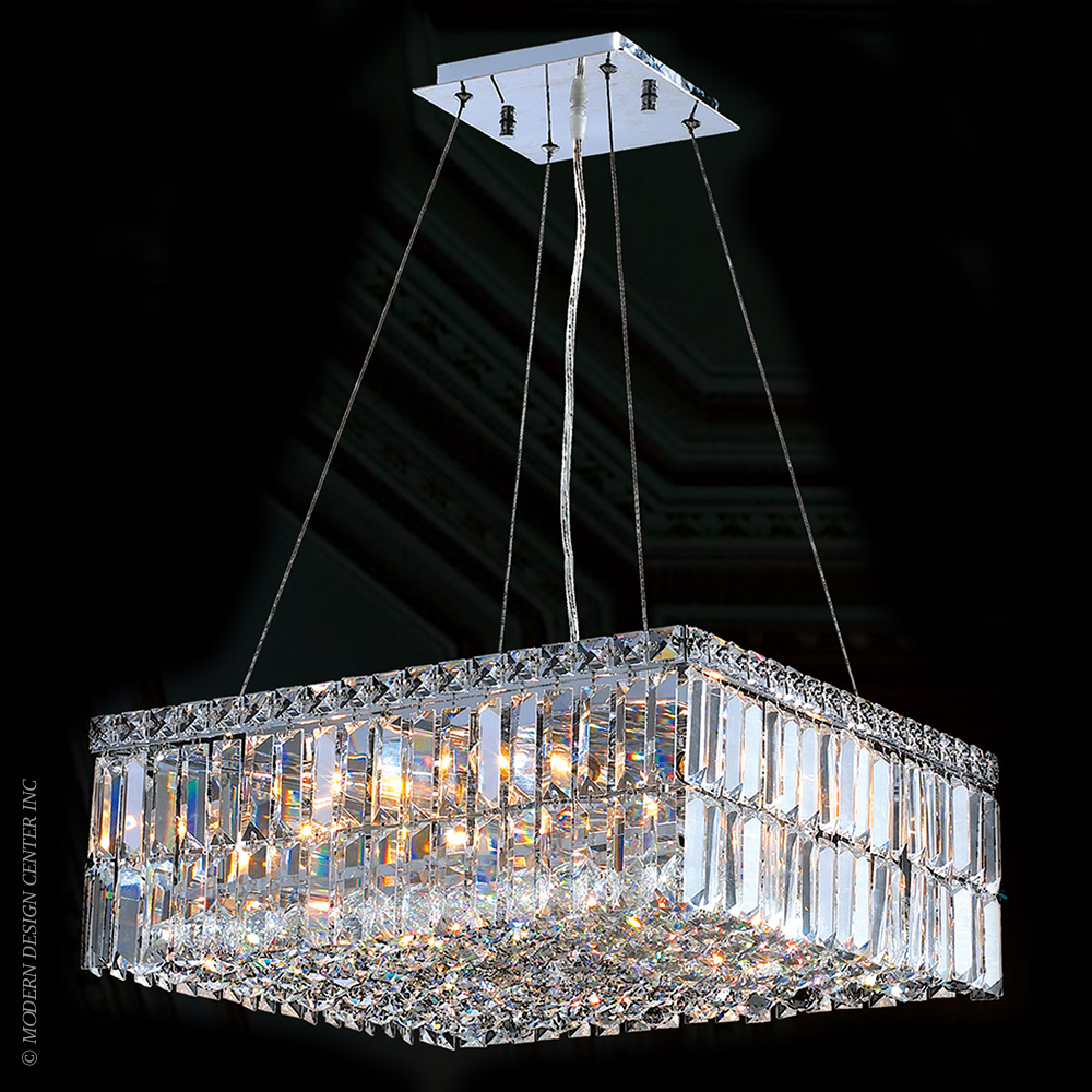Cascade Chandelier W83512C20 | Worldwide Lighting