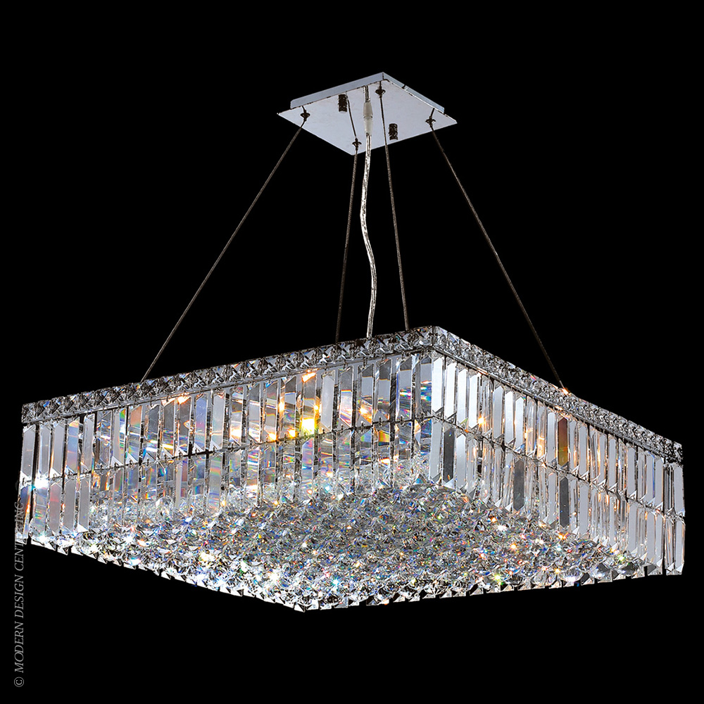 Cascade Chandelier W83513C24 | Worldwide Lighting