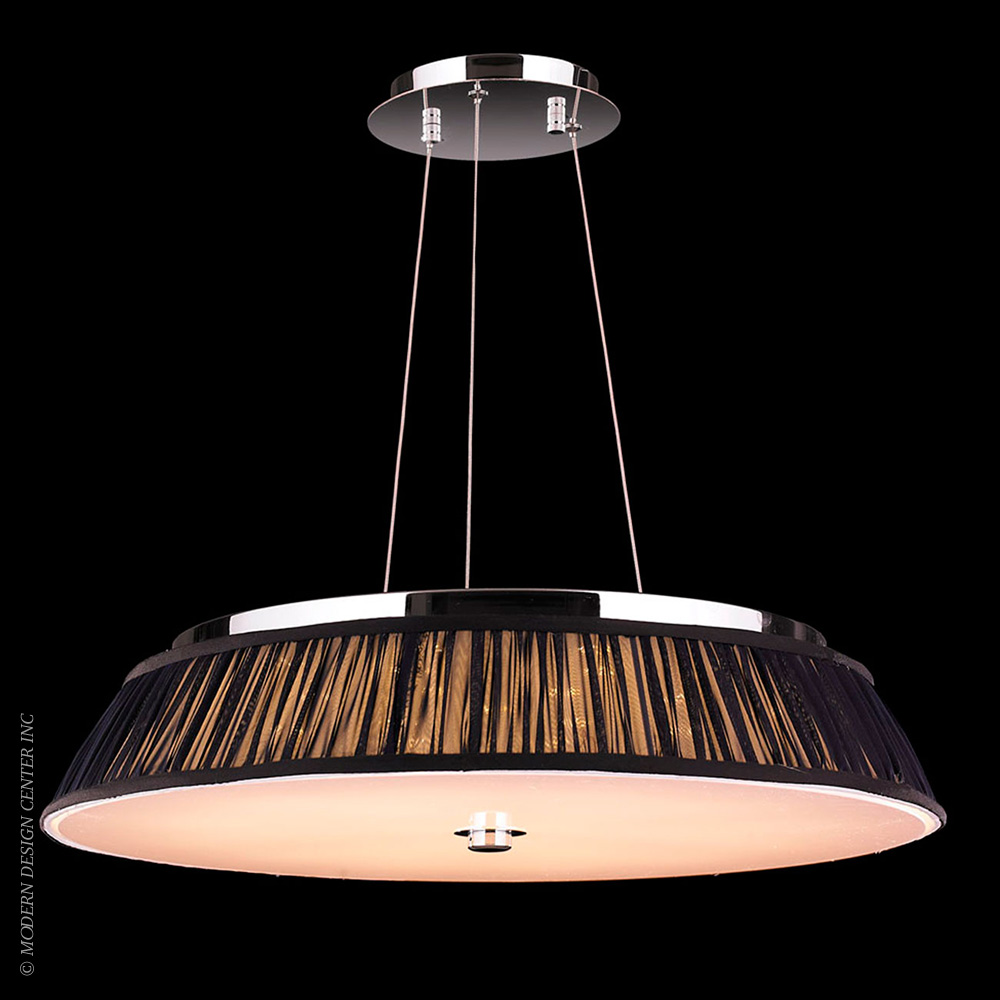 Alice Pendant W83953C24-BK | Worldwide Lighting