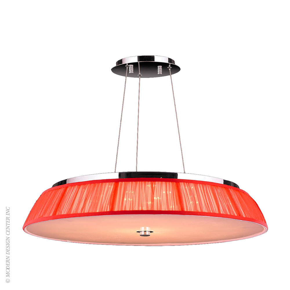 Alice Pendant W83953C28-RD | Worldwide Lighting