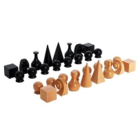 IC Design Man Ray Chess Pieces