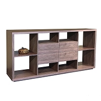 Malta Bookcase with Drawers | SohoConcept
